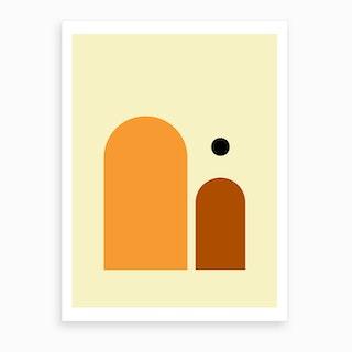 Contemporary Composition 3 Art Print