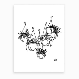 Growing With Love Art Print