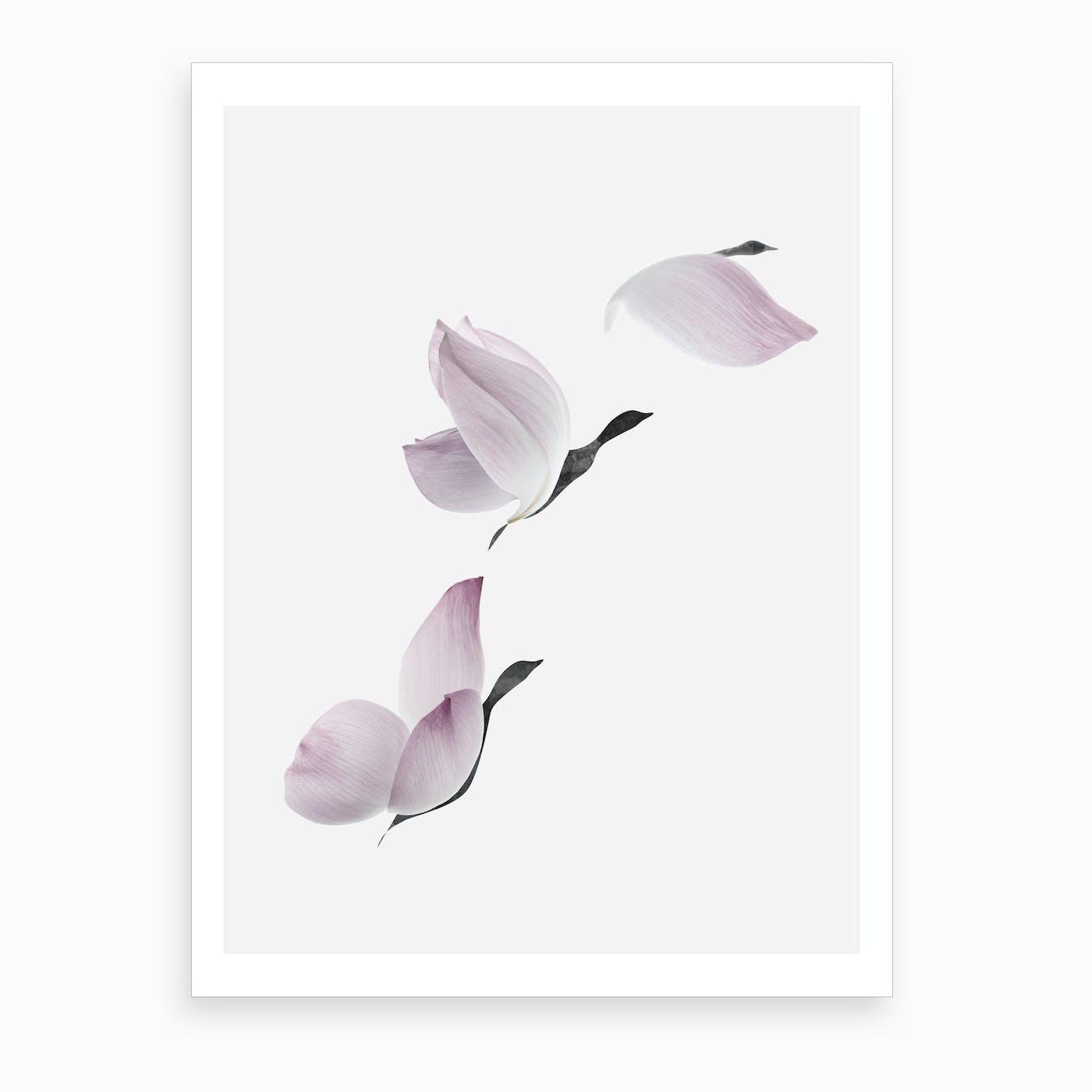 Birds Of A Petal Art Print