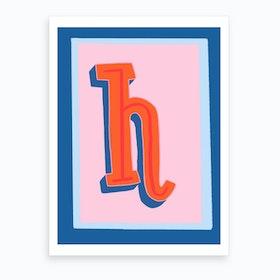 H Art Print