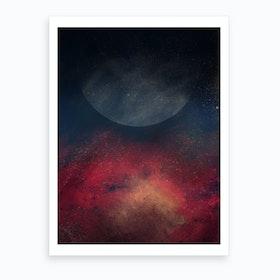 Oil Bright Vi Art Print