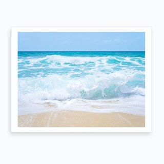 Ocean Waves 2 Art Print