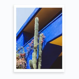 Blue Stinger Art Print