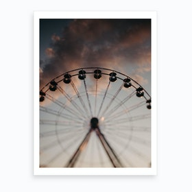 Theclouds Art Print