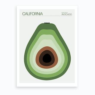 California Avocado Art Print