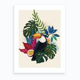 The Toucan Art Print