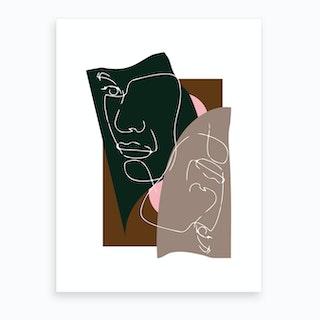 Modern Art III Art Print