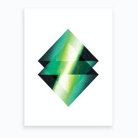 Diamond 3 Art Print