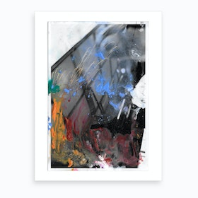 The Expressions Of Colour Art Print