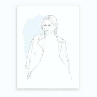 City Chic Art Print