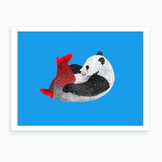 Party Panda Art Print