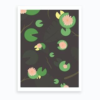 Dear Waterlily Art Print