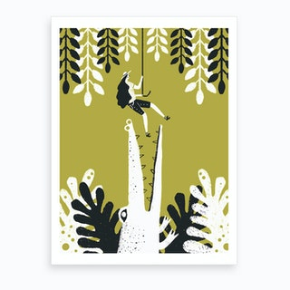Jungle 2 Art Print