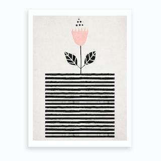 Little Sunshine Flower Art Print