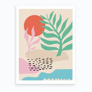 Desert Dancing Art Print