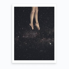 Hung In Space Art Print