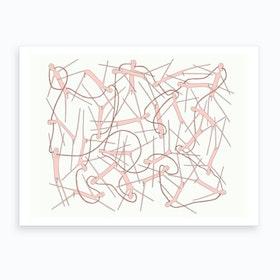 Jubilant Dudes Art Print
