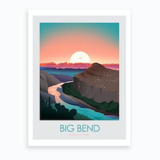 Big Bend Art Print