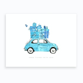 Tiffany Vintage Car Art Print