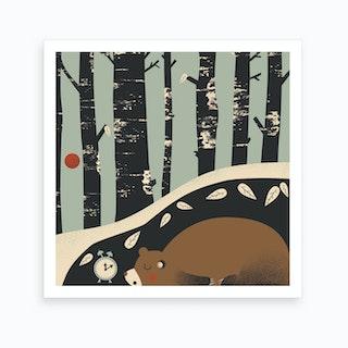 Woodland 1 Art Print