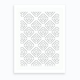 Patterns Morocco Art Print