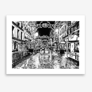Late In The Evening Art Print