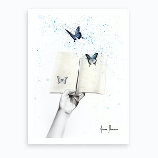 A Sense Of Butterfly Fiction Art Print