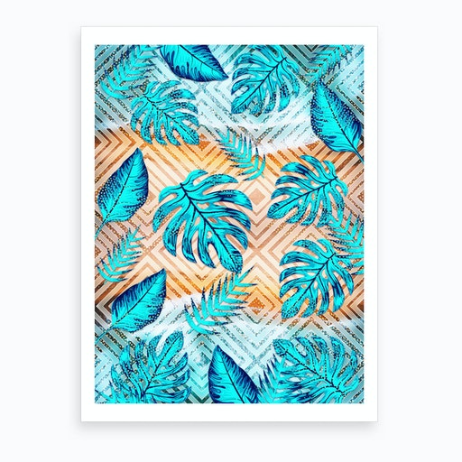 Tropical XII Art Print