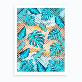 Tropical XII Art Print