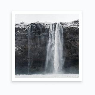 Seljalandsfoss Waterfall, Iceland Art Print