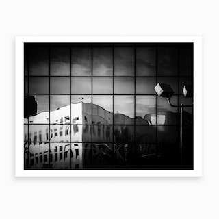 Meltdown Black And White Art Print