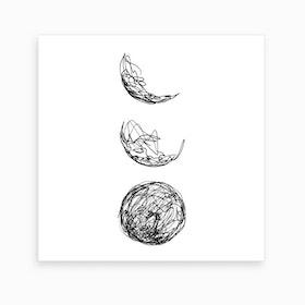 Lunar Art Print