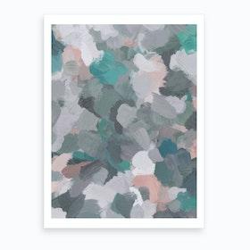 Flower Vortex Art Print