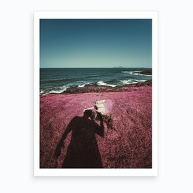 A La Sombra Art Print