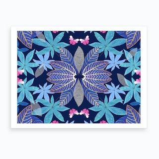 Persian Leaf Art Print