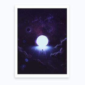 80s Portal Art Print