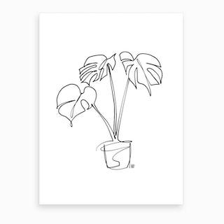 House Plant Art Print
