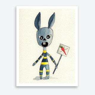 Bunny 04  Art Print