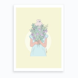 It'S The Little Things Art Print