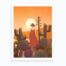 Beauty In The Desert Art Print