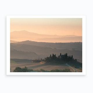 Podere Belvedere Tuscany Art Print