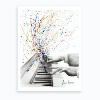The Keyboard Solo Art Print