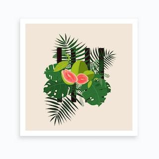 Guava Chic 2 Art Print