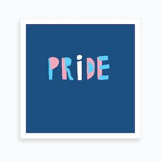 Transgender Pride Art Print