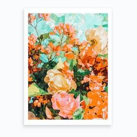 Blush Garden Art Print