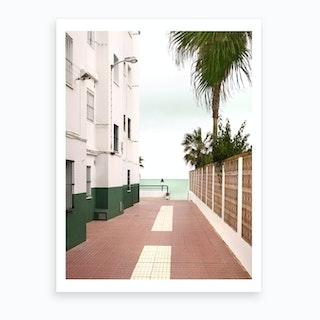 Road To The Beach Art Print