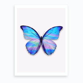 Holographic Butterfly Art Print