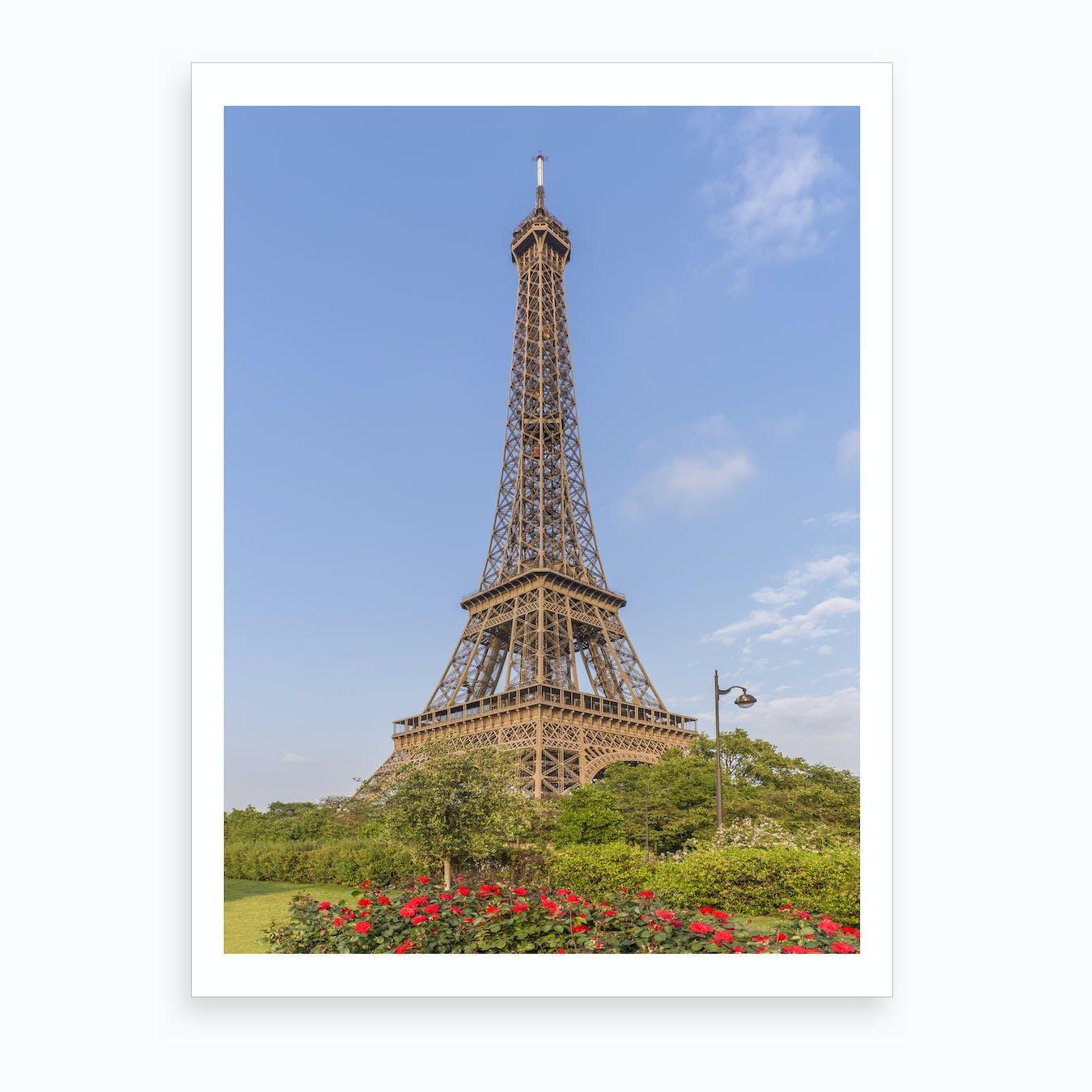 Idyllic Paris View Art Print