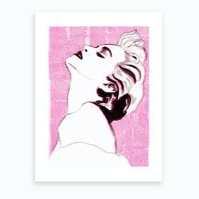 True Pink Art Print