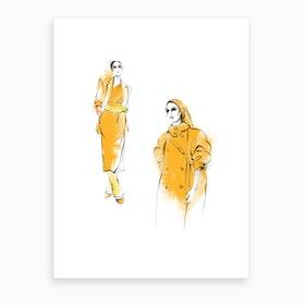 Max Mara Art Print